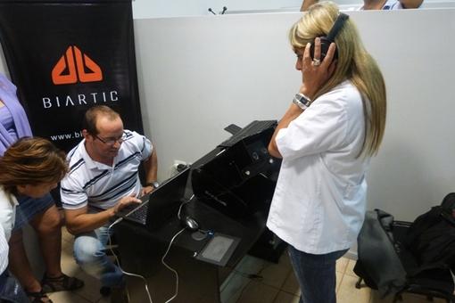Implementación de gabinete sensométrico en Posadas