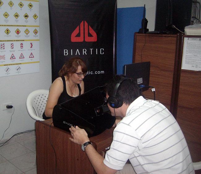 Evaluando conductores con Biartic